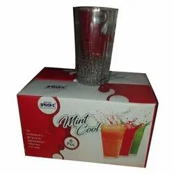 6 Pieces Tulip Glass, For Home, Capacity: 303 Ml
