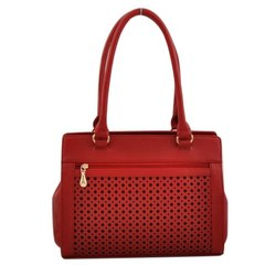Tonino Pu Leather Ladies Fancy Hand Bag, For Casual Wear