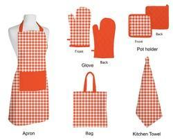 Apron Glove Pot Holder Kitchen Towel Napkin