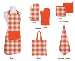 Apron Glove Pot Holder Kitchen Towel Napkin
