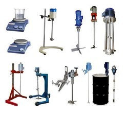 STIRRERS, MIXERS, AGITATORS & EMULSIFIERS