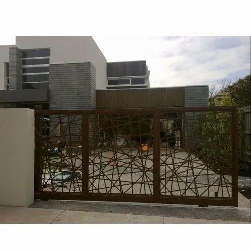 Modern sliding gates