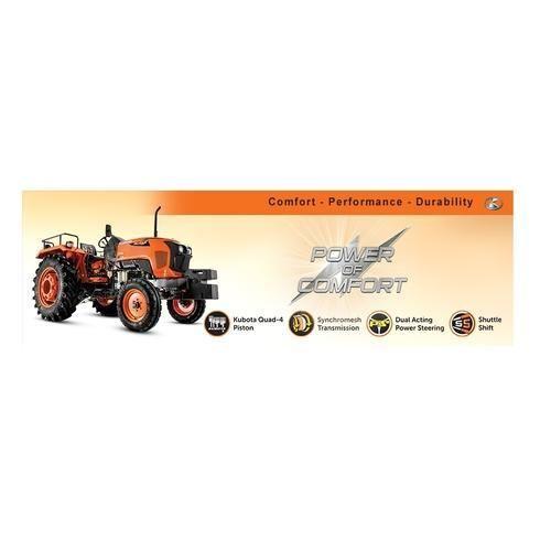 Kubota MU4501 45HP 2434 cc Tractor - Kubota Agricultural Machinery