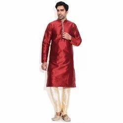 c86ed35f02 Mens Indian Silk Kurta Pyjamas For Weddings, Rs 1090 /piece   ID ...