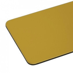 Traffic Yellow Metallic Aluminium Composite Panel