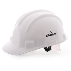 Pin Lock White Type Karam PN-501 Safety Helmet