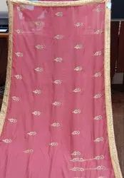 Jari Work Vichitra Silk Saree