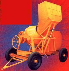 Semi-Automatic Concrete Mixer Machine