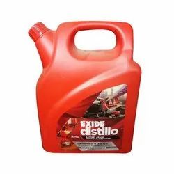 Liquid Exide Distillo Distilled Water, Packaging Size: 5 Litre, Packaging Type: Can