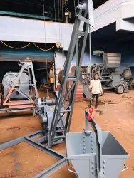 Concrete Material Lift Machine Gear Model, Capacity: 80 KG