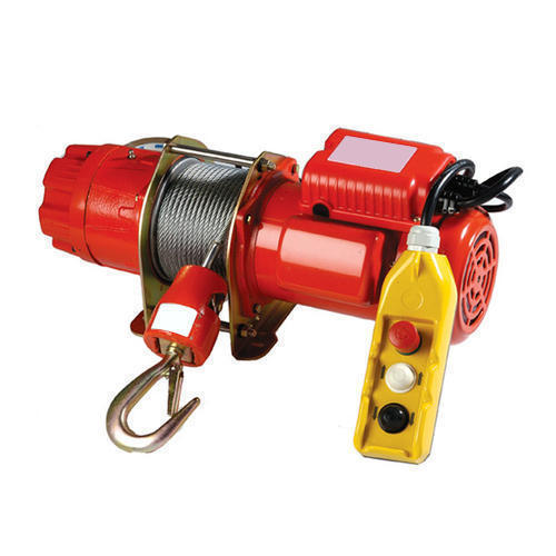 Safelift Electric Winch, Capacity: 4-6 Ton, Rs 30000 /piece Ezzy Lifting  Tackle Equipment | ID: 15984308930