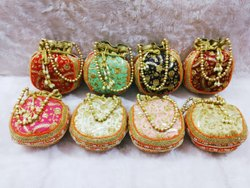 Traditional & Classy Embroidered Potli Bags
