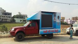 LED Video Van For Election Campaigning