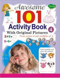 Awesome 101 Activity Book 4 (With Original Pictures)