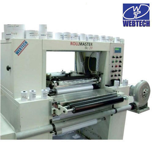 Paper Roll Making Machine Manufacturer from Faridabad