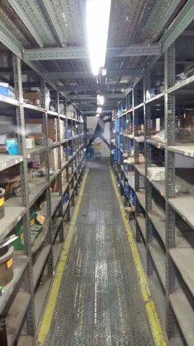 MAK Stainless Steel Mezzanine Storage Rack for Supermarket, Warehouse