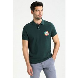 Poly Cotton Half Sleeve Mens Promotional Collar Neck T Shirt