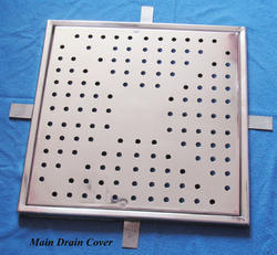 Square SS Drain Cover