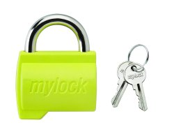 With Key Normal Mylock Luggage Lock, Color Coated