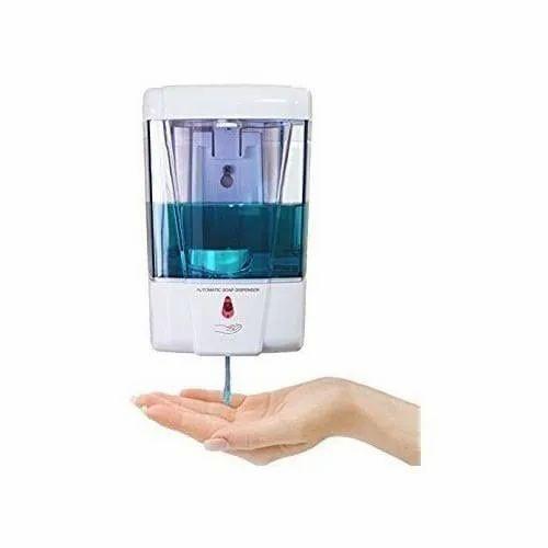 SM Pvc Auto Hand Sanitizer Dispenser, Machine set, 10ltr, Rs 4000 /box |  ID: 22292221097