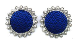 FE009 Handmade Fabric Earrings