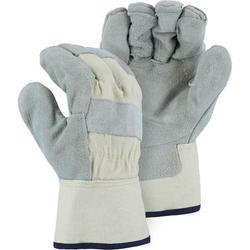 Male Leather Heavy Duty Safety Gloves