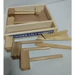 Wooden Clay Hammer Set