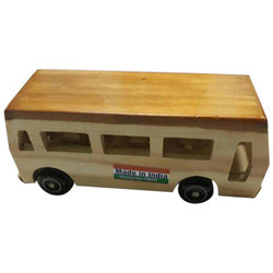 Wooden School Bus Toys, for School/Play School