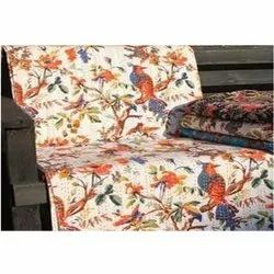 Bird Print Kantha Quilts