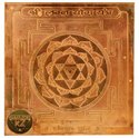 Kesar Zems Golden Plated (Brass) & Copper Plated Lagna YOG Yantra