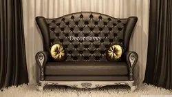 Decor Savvy Rexine Sofa