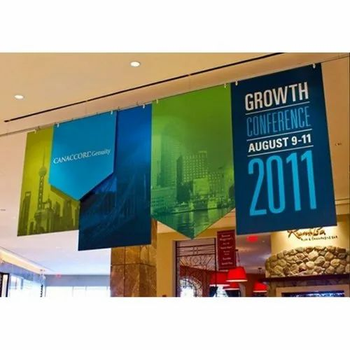 Printed Rectangle Vinyl Hanging Banners