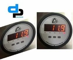 Aerosense Digital Differential Pressure Gauge Model CDPG -10L-LED Range 0-250 MM WC