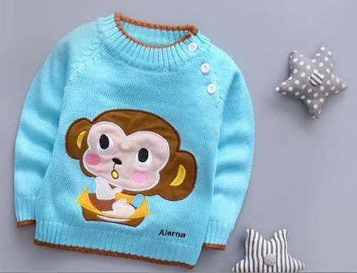 900a7ba85 Kids Blue Sweater - View Specifications   Details of Kids Sweater by ...