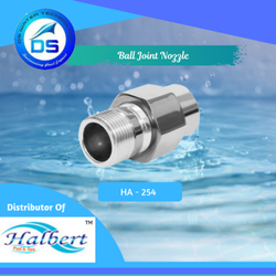 Fountain Ball Joint Nozzle - HA-254