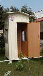 Modular Portable Guard Cabin