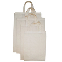 Cotton Carry Bag with Gusset