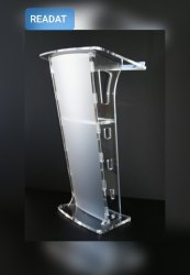 Readat Acrylic Podium/Lecture Stand/Pulpit Stand
