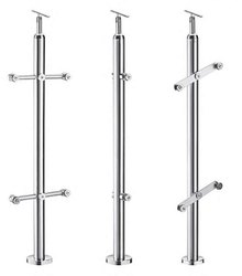 Plain Vertical Stainless Steel Baluster