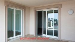 Jindal Glossy Aluminum Sliding Window, For Home