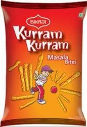 Bikaji Peri Peri Kurram Kurram Masal Bites, Packaging Size: 50gm, Packaging Type: Packet