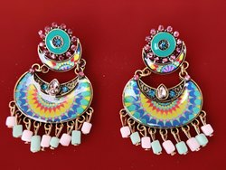 Party Alloy Imitation Earrings