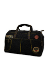 Yellow Black Duffle Bag with Big Compartment & Military Desi