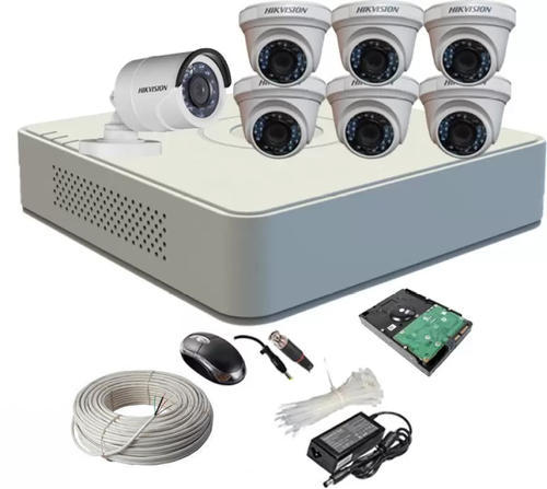 Hikvision 8 Channel Home Security Camera (2Tb Hdd)