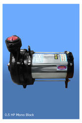 Single Phase Monoset Water Pump 0.5 Hp