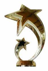 Plastic Star Award Trophy