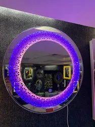 Led Sensor Mirror Round