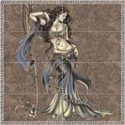 Designer Ceramic Digital Wall Tiles, Size: 300X600 mm