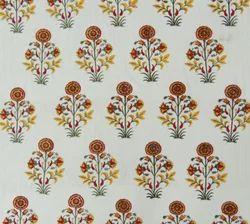 Cotton Mugal Boota Print Cotton Fabric