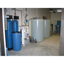 Vertical Water Softener Plant